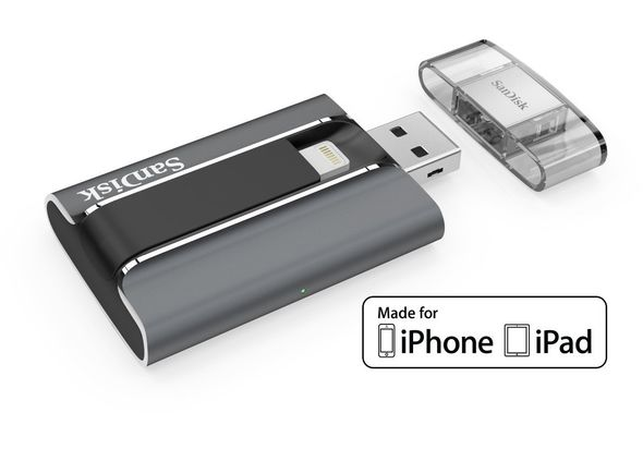SanDisk iXpand 64GB USB 2.0 Mobile Flash Drive