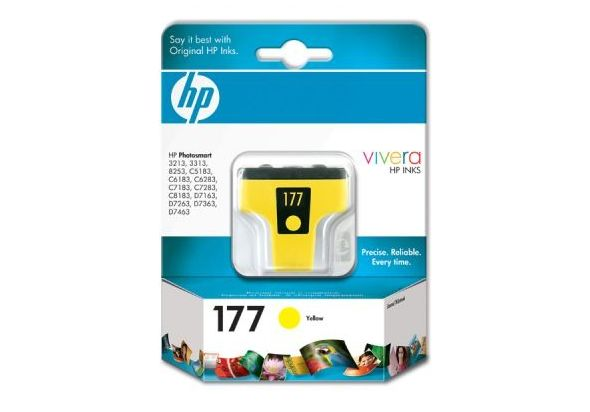 HP C8773HE-R 177 Yellow Original Ink Cartridge