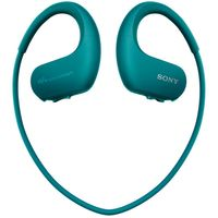 Sony NW-WS413 Water Resistant 4GB MP3 Player, Viridian Blue