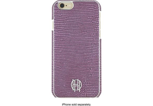 Incipio House of Harlow Hard Shell Case For Apple iPhone 6 and 6s, Pink/Silver Metallic