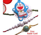 Gifts World Gorgeous Rakhi Set