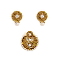 Alankruthi Exclusive traditional pendant sets, gold