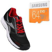 Buy Anyone Branded shoes with Samsung Evo 64gb Memory card just in Rs. 799, 6