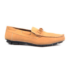 RE Stylish Tan Loafers Shoe for Man, synthetic, 6, tan