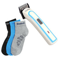 Nova Trimmer For Men with 3 pairs of branded sock