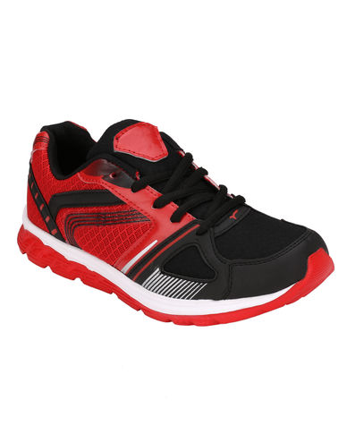 HNT SPORTS SHOES in Black Color
