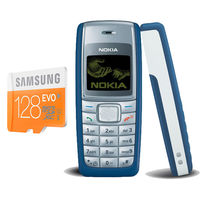 Buy Anyone Nokia 1100/1600 with Samsung Evo 128GB Memory card Just Rs. 999