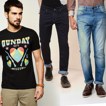 Buy Any 1 Tshirt and 2 Men's Jeans in Just Rs. 999, 34, xl