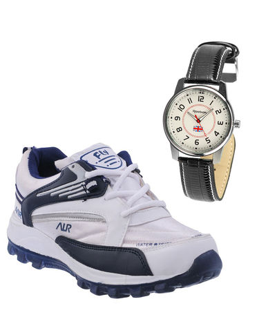 Buy Finley Running Shoes with Branded Reebok Watch in just Rs. 70