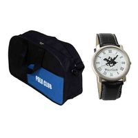 Combo of Duffle Bag and Polo Club Watch, shivam traders