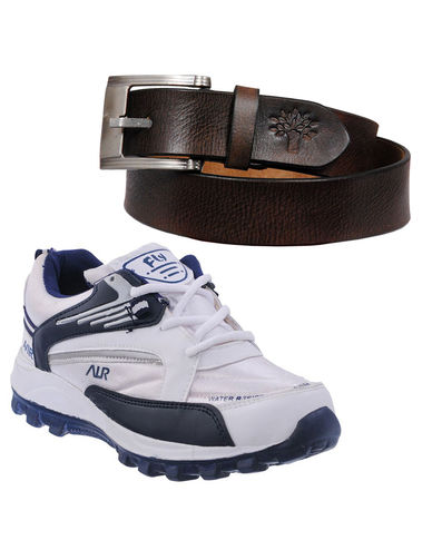 Buy Finley Running Shoes with Woodland Belt in just Rs. 70