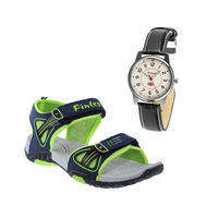 Buy Finley Floater with Branded Reebok Watch in just Rs. 70, green, 7