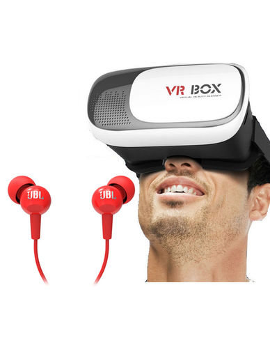 Buy Branded VR Box with JBL Earphone Just Rs. 999