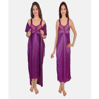 Purple Hot Nighty/Gown/Maxy for ladies/Girl and women, 36