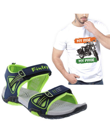 Buy Finley Floater with Branded Tshirt in just Rs. 70