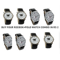 combo of 4 polo watch or reekbok at Rs 2 only, 2 2 reebok polo