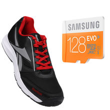 Buy Anyone Branded shoes with Samsung Evo 128gb Memory card just in Rs. 999, 9
