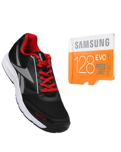 Buy Anyone Branded shoes with Samsung Evo 128gb Memory card just in Rs. 999