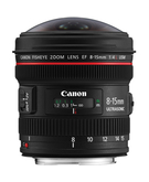 Canon EF 8-15mm F4L Fisheye USM,  Black, 8 - 15mm