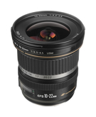 Canon EF-S 10-22mm F3.5-4.5 USM,  Black, 10-22mm