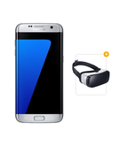 Samsung Galaxy S7 Edge Dual SIM With FREE Samsung Gear VR Virtual Reality Headset,  Silver