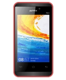 INTEX MOBILE PHONE CRYSTAL 701 RED,  Red