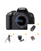 Canon 700D Kit 18-55+ Tripod+ Carry Case+ Ultra SD Card 16 GB+ Canon EF 75-300MM F/4.0-5.6 III Lens For Canon SLR Cameras