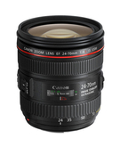 Canon EF 24-70mm F4L IS USM,  Black, 24-70mm