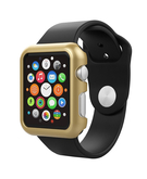 PC Clip-On protective cover shell for Apple Watch 42mm - Gold