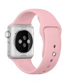 Silicone Sport Replacement WristBand Strap for Apple Watch 38mm - Pink