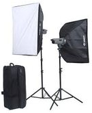 VISICO STUDIO FLASH VC600HH SOFT BOX KIT