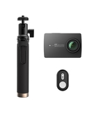 YI 4K Action Camera 12Mp with Selfie Stick & Bluetooth Remote International Version CAM-YI-AC-02B-B