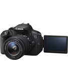 Canon EOS 700D, 18-55mm IS STM Lens,  Black