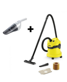 Karcher Multi-Purpose Vacuum Cleaner WD2+ Black & Decker 2.4V Rechargable Hand Vaccum Dust Buster NV2410N-B5