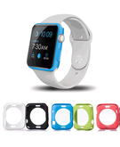 Colorful TPU Cover Case for Apple Watch 38mm (Pack of 5) - Opaque Colors
