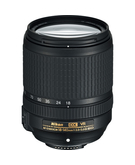 Nikon AF-S DX 18-140mm F/3.5-5.6G ED VR,  Black, 18-140mm