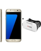 Samsung Galaxy S7 Edge G935F 32GB, Dual Sim - Gold+ MyCandy Gear VR Lite White