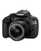 Canon EOS 1200D, 18.55mm Lens,  Black