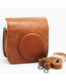 CAIUL PU Leather Case for Fujifilm Fuji Instax Mini 25 Camera -Brown