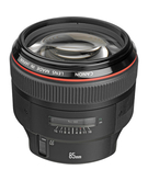 Canon EF 85mm F1.2L II USM,  Black, 85mm