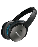 Bose QC-25 Noise Cancelling Wired Headphones,  Black