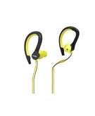 SBS In-Ear Stereo Earphones Runway Flat Sport For iPhone, Smartphone And Mobiles TESPORTINEARWPR Yellow
