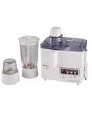 Panasonic Juicer Blender Mill Made in Malaysia MJM176P,  White