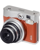 Fujifilm Instax Mini90 Neo Classic Instant Film Camera - Brown