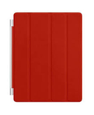 Apple iPad 3 Leather Case MD304,  RED