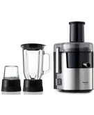 Panasonic 2 in Juicer Stainess Steel MJDJ31,  Black