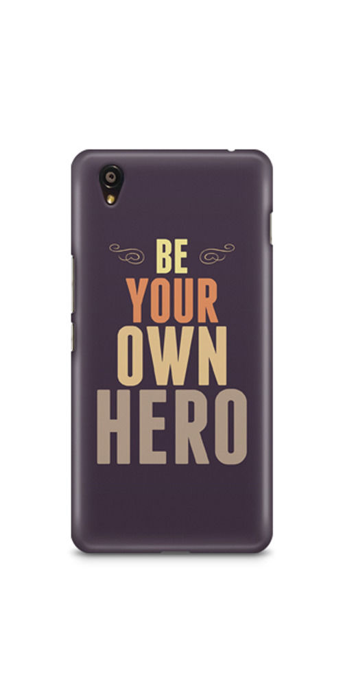 Casenation Be Your Own Hero OnePlus X Glossy Case