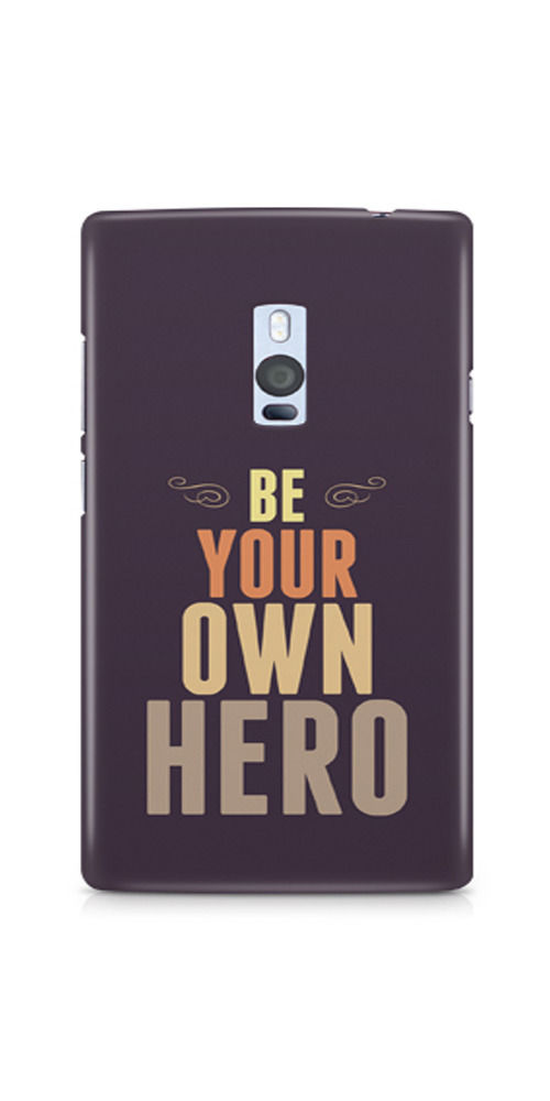 Casenation Be Your Own Hero OnePlus Two Matte Case