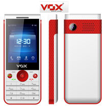 VOX 2.4inch Screen Smart Multimedia 3 Sim Mobile   V3300 White