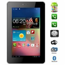 VOX 7inch Dual Sim Calling Slim Tablet V102 Android 4.1 with Bluetooth, 3G, Capacitive Touch